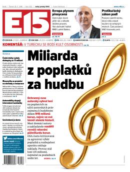 koMentář: V Turecku se rodí kulT osobnosTi/ str. 12