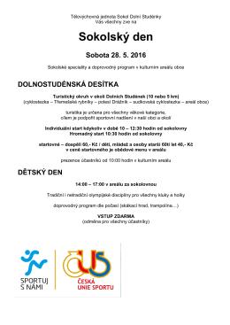okolský den - Dolní Studénky