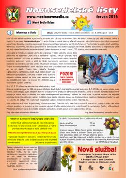 06-2016 Novosedelské listy