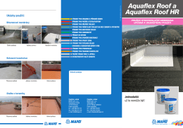 Aquaflex Roof a Aquaflex Roof HR