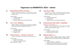 zde - Ostrava | BAMBIFEST