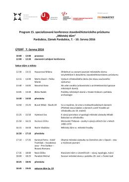 Program konference v PDF