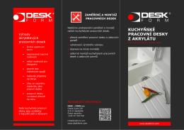 stáhnout v pdf - DESK-FORM