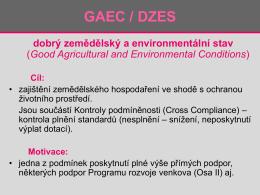 ZOP5_ GAEC a projekt