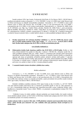 usnesen í - Úřední deska