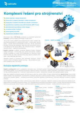 MCAD řešení od CAD Studia