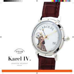 Karel IV. - ELTON hodinářská, as