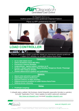 Air Dispatch - LOAD CONTROLLER
