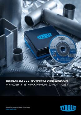 premium systém cerabond výrobky s maximální životností