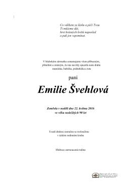 Emilie Švehlová
