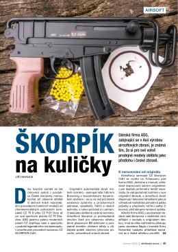 Dánská firma ASG, zabývající se v Asii výrobou airsoftových zbraní