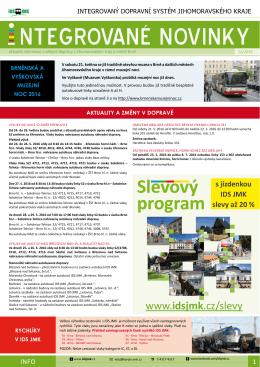 Infomail 2016-12 Informační email - Brno