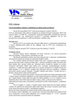 ČOV Vyžlovka návrh rekceDUR_s_filtry+rybník