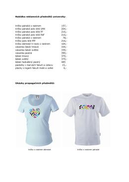 tričko pánské polo bílé UHK 204