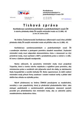 Konfederace zaměstnavatelských a podnikatelských svazů ČR