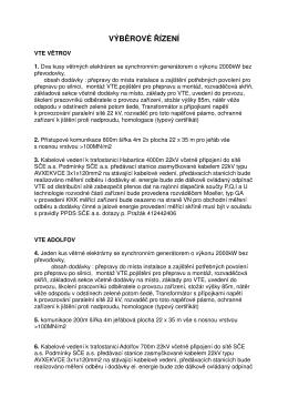výběrové řízení - Windtechnology.cz