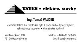 Ing. Tomáš VALDER