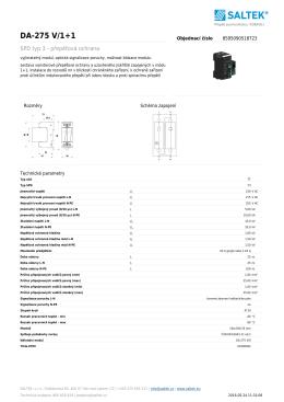 DA-275 V/1+1 - ADI Global Distribution