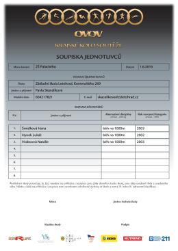 ZŠ Palackého 1.6.2016 Základní škola Letohrad, Komenského 269