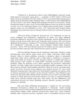 """""""İstanbul Su ve Kanalizasyon İdaresi Genel Müdürlüğünde"""