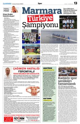 Kadıköy spor şenlikleri tamamlandı