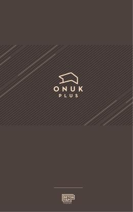 e-katalog - Onuk Plus / Beton Yapı İnşaat Mersin