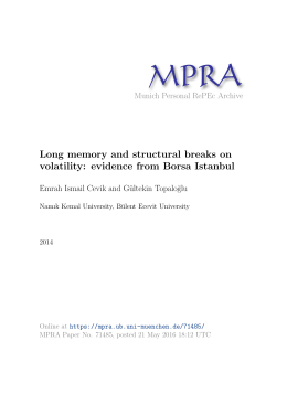 Long memory and structural breaks on volatility: evidence from