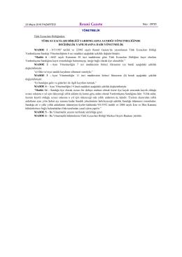 2-Türk Eczacıları Birliği Yardımlaşma Sandığı Yönetmeliğinde