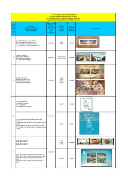 2016 yılı pul emisyon programı stamp emıssıon programme of