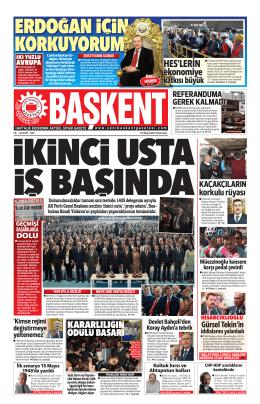 HES`lErİn - baskent gazetesi