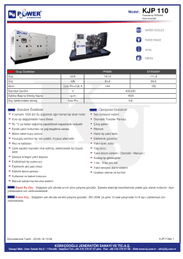 Model: KJP 110