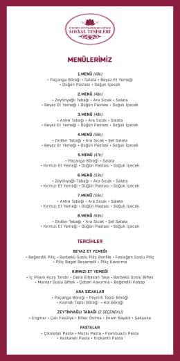 davet menü fiyatları