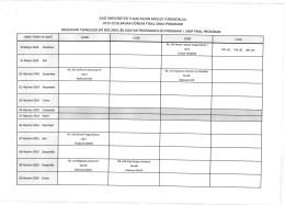 2oL5-20L6 BAHAR DÖNEMi FiNAL SlNAV PRoGRAMl BiLGisAYAR