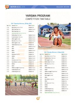 eccc 2016 yarışma programı