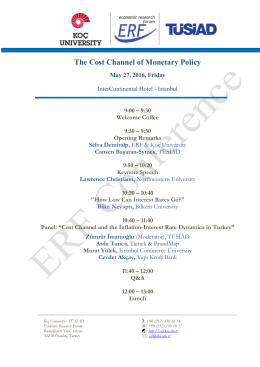 The Cost Channel of Monetary Policy