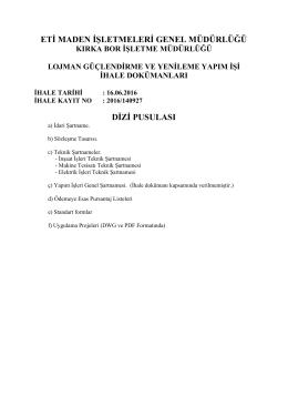 eti maden işletmeleri genel müdürlüğü dizi pusulası