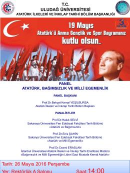 Slayt 1 - Uludağ Üniversitesi