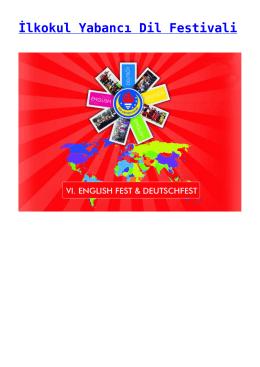 İlkokul Yabancı Dil Festivali