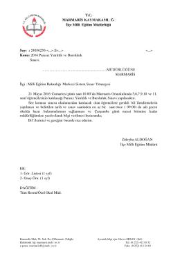 Java Printing - Marmaris İlçe Milli Eğitim Müdürlüğü