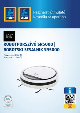 robotporszívó sr5000 | robotski sesalnik sr5000