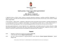 Digitális gazdaság - Magyar Kereskedelmi és Iparkamara