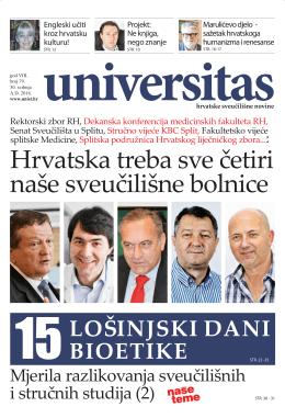 Universitas - br. 79 - Sveučilište u Splitu