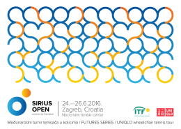 Preuzmi bilten - Teniski klub osoba s invaliditetom Sirius