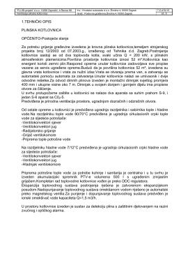 1.TEHNIČKI OPIS PLINSKA KOTLOVNICA OPĆENITO - HAC-a