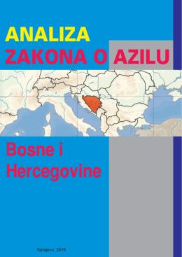 ANALIZA ZAKONA O AZILU BiH