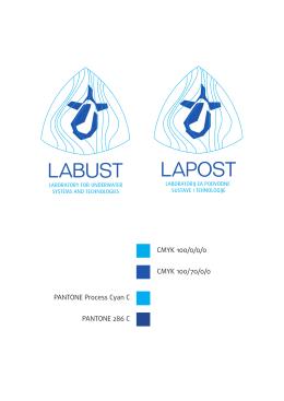 Labust i Lapost logotipi definicija boja
