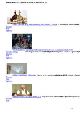 PDF - Radio Televizija Opštine Kovačica