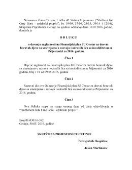"""Na osnovu člana 63. stav 1 tačka 42 Statuta Prijestonice (""""Službeni"""