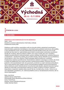 Prehľadný program FF Východná 2016 vo formáte PDF