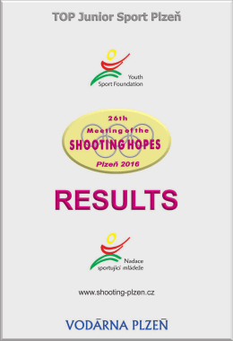 26th Meeting of the Shooting Hopes 2016